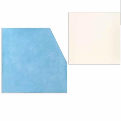 Ettore SPALLETTI - Painting - Così com'è bianco