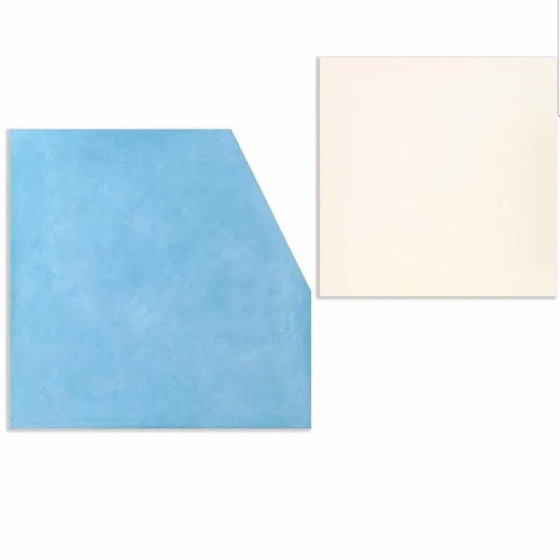Ettore SPALLETTI - Gemälde - Così com'è bianco