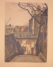 Takanori OGUISS (1901-1986) - PARIS - Ménilmontant