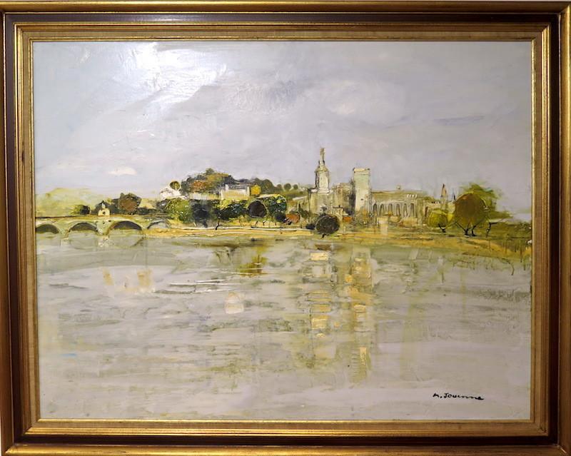 Michel JOUENNE - Gemälde - Avignon