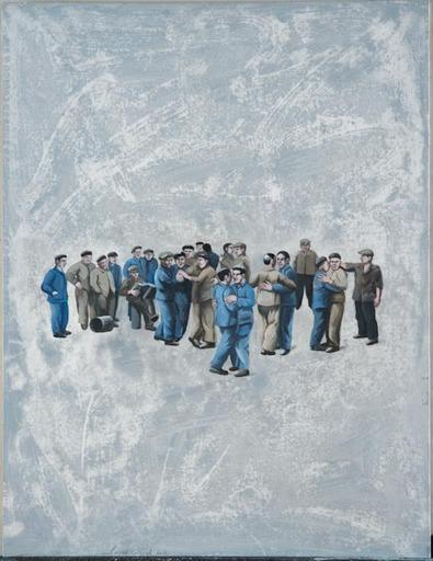 Catherine LOPES-CURVAL - Pittura - La pause tango