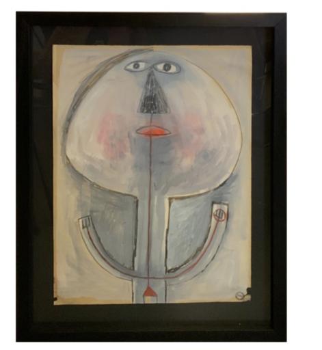 Albert CHUBAC - Disegno Acquarello - 348Z2