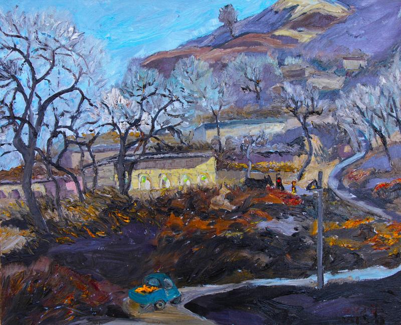 ZHENG Judy C. - Gemälde - Harvest Season