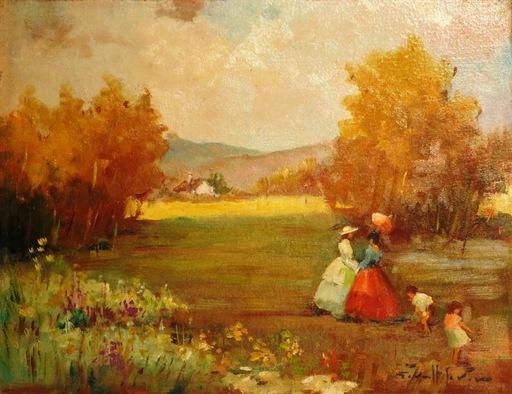 Joan GIRALT LERIN - Painting - *Printemps