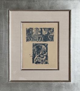Jasper JOHNS - Print-Multiple - 0-9, Number 2