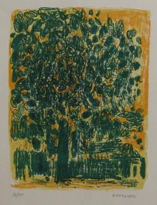 André COTTAVOZ - Print-Multiple - LITHOGRAPHIE SIGNÉE CRAYON NUM/100 HANDSIGNED NUM LITHOGRAPH