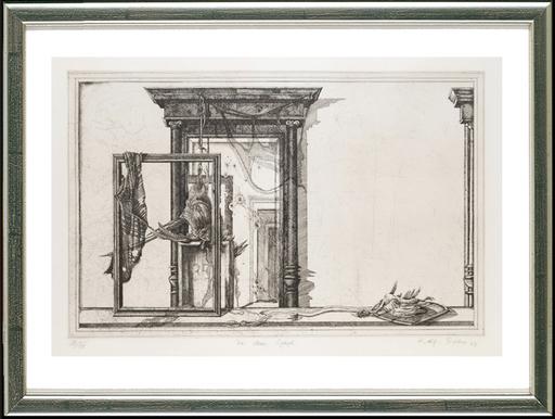 Rolf ESCHER - Stampa-Multiplo - Vor dem Spiegel