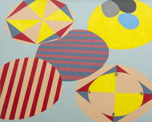 Sandra MEIGS - Painting - Room for Mystics 1