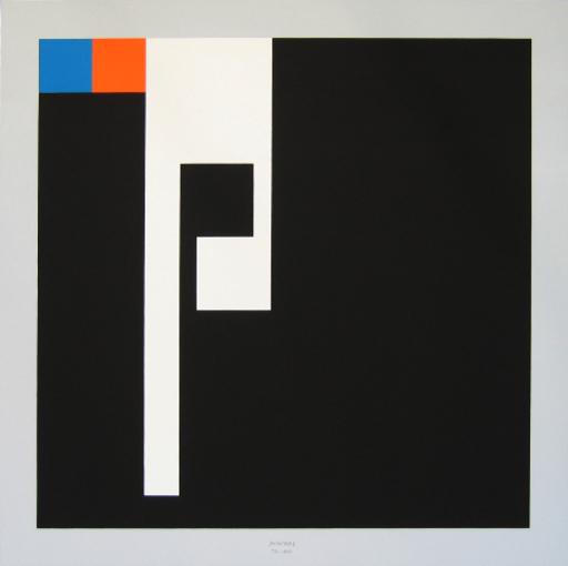 Bruno MUNARI - Druckgrafik-Multiple - Negativo-positivo