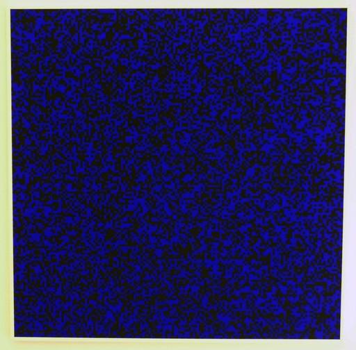 François MORELLET - Print-Multiple - 40'000 Carrés (bleu)