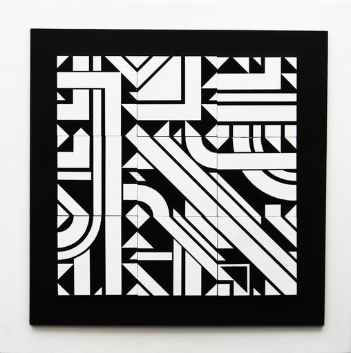 Michel BISBARD - Sculpture-Volume - Magnétique