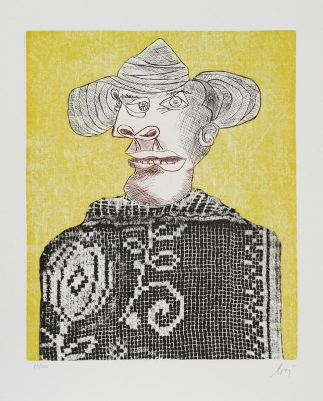 Enrico BAJ - Stampa Multiplo - Baj Chez Picasso 3