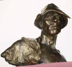 Karel POKORNY - Skulptur Volumen - Foundry-man