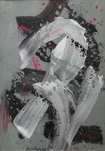 Toti Antonio SCIALOJA - Painting - senza titolo