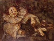 Mark TOCHILKIN - Painting - The Clown