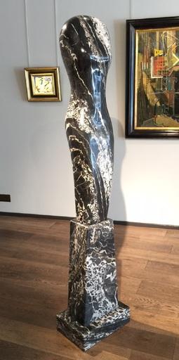 Paul VANSTONE - Sculpture-Volume - Silver Portoro Torso