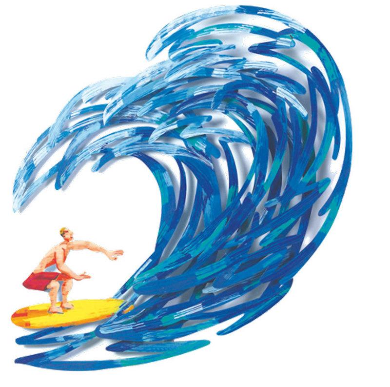 David GERSTEIN - Escultura - Surfer