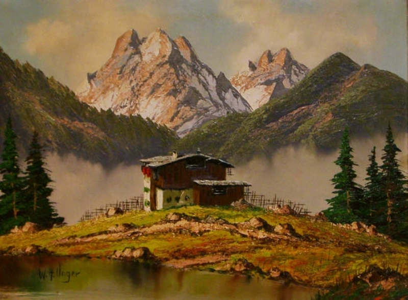 Wolfgang Heinz UNGER - Pintura