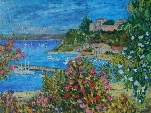 Patricia DE BOYSSON - Painting - PAYSAGE - LANDSCAPE