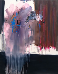 Tommaso FATTOVICH - Painting - Libet's Delay (Abstract painting)