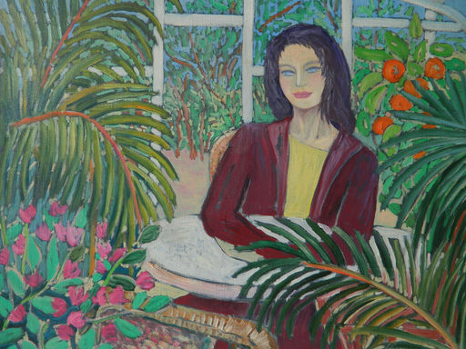Patricia DE BOYSSON - Pintura - PORTRAIT - FEMME - WOMAN