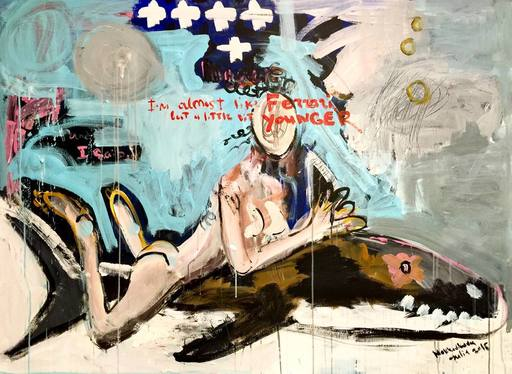 Julia PEKER-MOKHOVIKOVA - Pintura - I'm almost like Ferrari, but a little bit younger