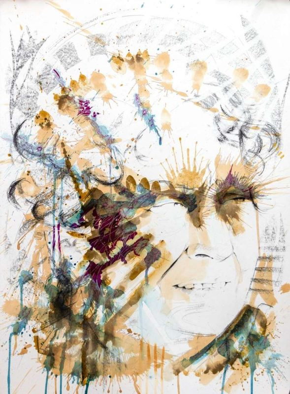 Sergio CORTEZ - Drawing-Watercolor - Skepsis