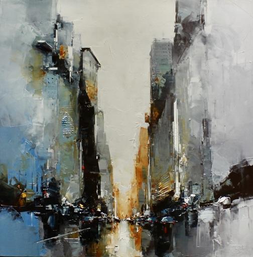 Daniel CASTAN - Peinture - Metropolitan Life Building