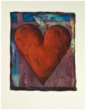 Jim DINE - Print-Multiple - Viennese Heart VII