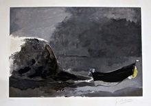 Georges BRAQUE - Stampa Multiplo - Marine Noire