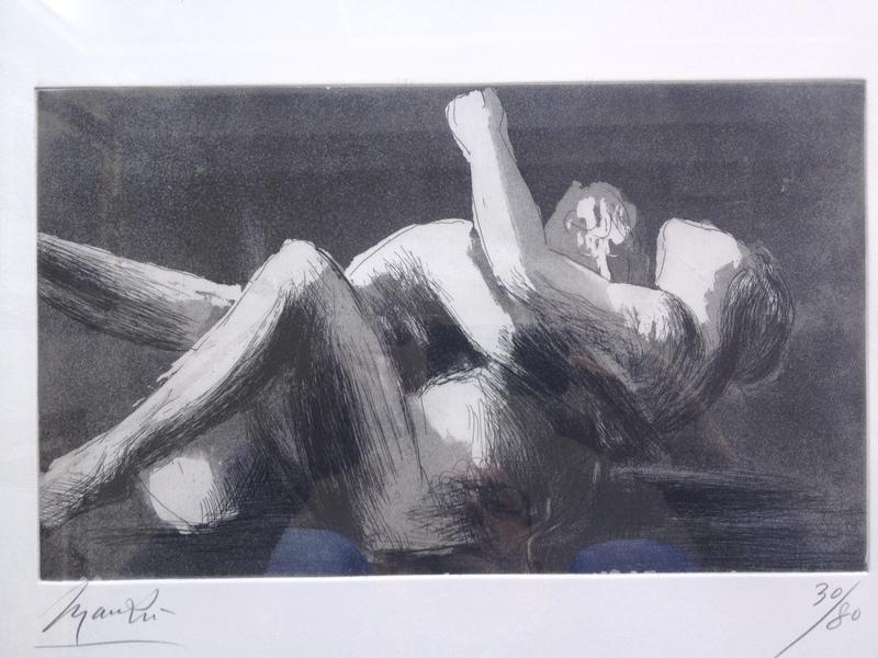 Giacomo MANZU - Print-Multiple - Gli amanti