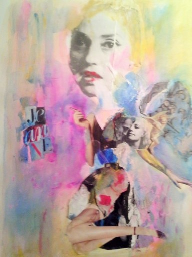 Marie NEIGE - Peinture - JEANNE MOREAU