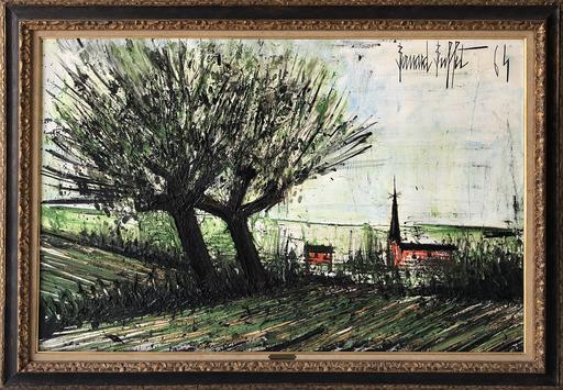 Bernard BUFFET - Peinture - Environs des Ponts Bretagne