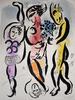 Marc CHAGALL - Print-Multiple - The Three Acrobats