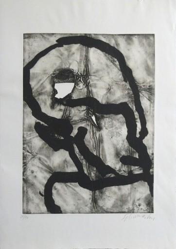 Emil SCHUMACHER - Stampa-Multiplo - Hommage á Picasso