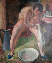 Georges Émile CAPON - Painting - Femme au tub