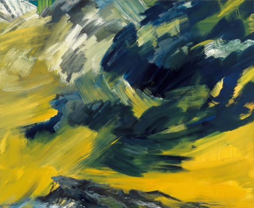 Bernd ZIMMER - Peinture - Wolkenauflösung (Himmelbilder)