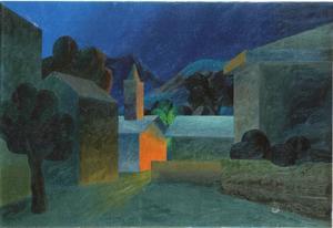 SALVO - Pintura - VILLAGGIO