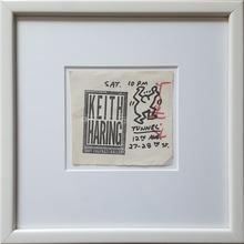 Keith HARING - Dessin-Aquarelle - keith haring untitled original drawing tony shafrazi