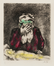 Marc CHAGALL (1887-1985) - Pl.11 and Pl.16 from 'Bible'