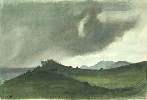 Pietro ANNIGONI - Disegno Acquarello