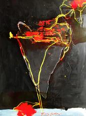 Tony SOULIÉ - Pintura - Dreamed Flower v