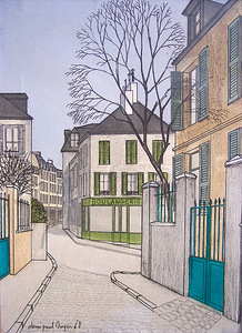 "Denis Paul NOYER, ""Montmartre"""