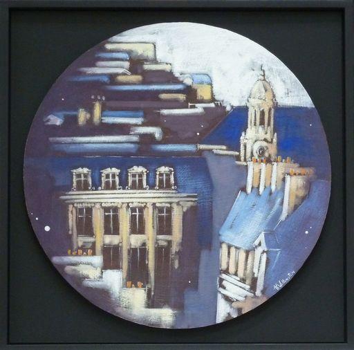 Anne Christine WELLENSTEIN - Peinture - Les Lucarnes