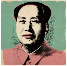 Andy WARHOL (1928-1987) - Mao
