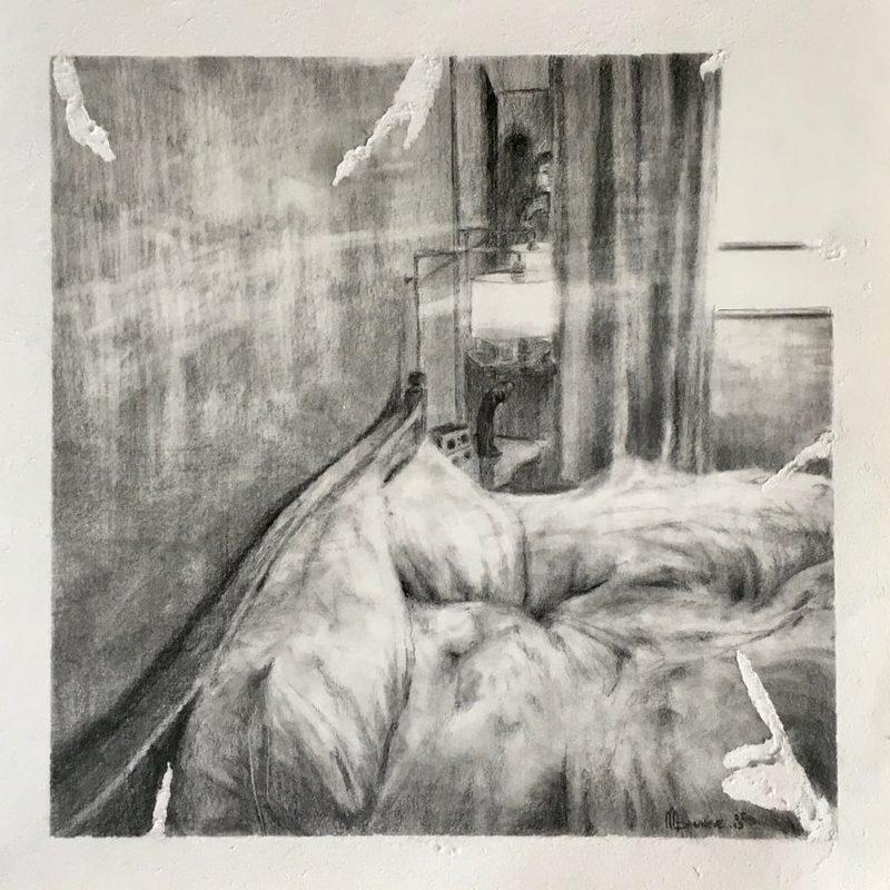 Marie DONNEVE - Dessin-Aquarelle - « Flagrant délit »