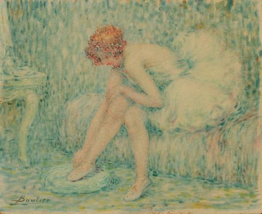 Lucien BOULIER - Painting - Ballerine