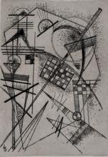 Wassily KANDINSKY - Estampe-Multiple - Etching for the German Art Community