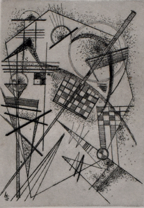 Wassily KANDINSKY - Estampe-Multiple - Etching for the German Art Community