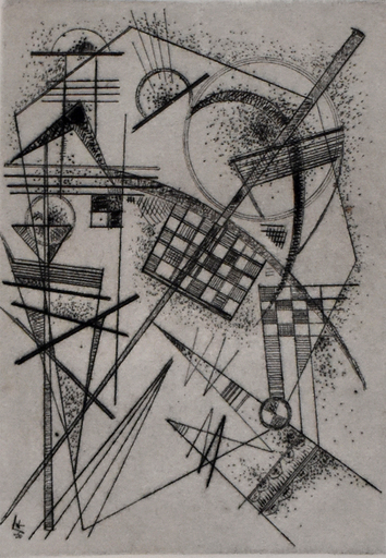 Wassily KANDINSKY - Print-Multiple - Etching for the German Art Community